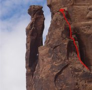 Rock Climbing Photo: I just pulled this off of the Haagenschlong photos...