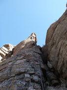 Rock Climbing Photo: Jimbo on his onsight