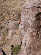 Rock Climbing Photo: Arjun in alignment