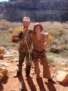 Rock Climbing Photo: Gearing up for Halloween 2012...Retro Day