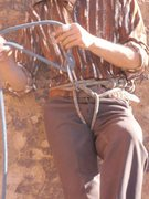 Rock Climbing Photo: Standard Belay for the day...Halloween 2012