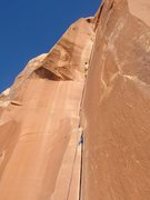 Rock Climbing Photo: Way to represent justin!!...Haloween 2012 IHC on A...