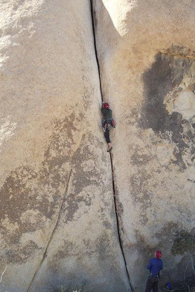 Gargoyle.  Photo: Dave Rockwell, Climber, Todd Bradley
