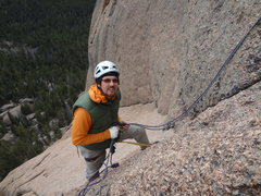 Rock Climbing Photo: Alan Ream. Trail of Tears. Wigwam Dome. Lost Creek...
