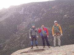 Rock Climbing Photo: Doug Donato, Michael Colacino, and Alan Ream. Trai...