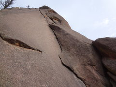 Rock Climbing Photo: Alan Ream. Exploring the second pitch and realizin...
