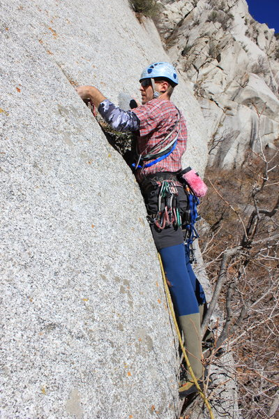 The latest in climbing fashion 2012