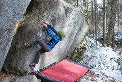 Rock Climbing Photo: Kayte on Haiku