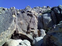Rock Climbing Photo: Face your inner Jango