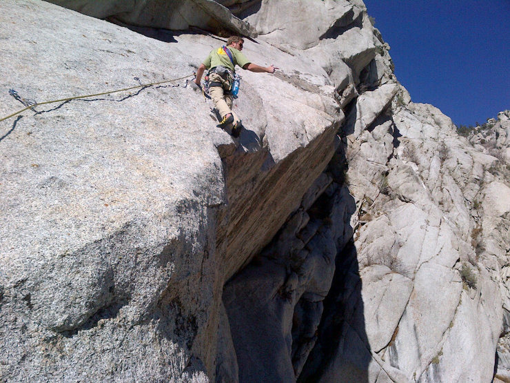 Rock Climbing Photo: Steve Zissou on the fourth pitch