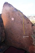 Rock Climbing Photo: Sharp and Short Topo