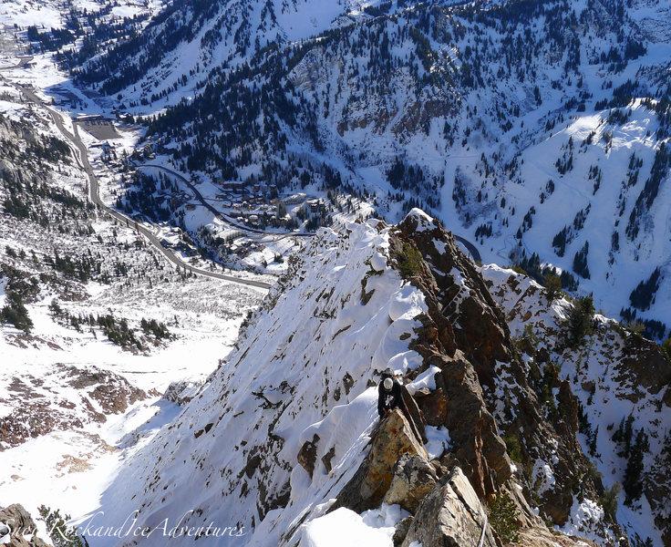 Knife Ridge section on 11.24.12
