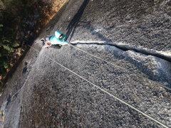 Rock Climbing Photo: Caitlin on TR