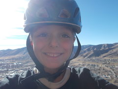 Rock Climbing Photo: Days before 7th birthday, warm winter day at N Tab...