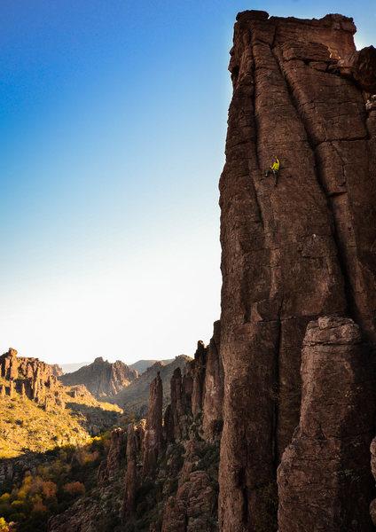 Climbing hidden splendor