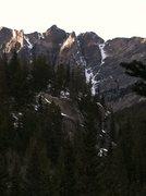 Rock Climbing Photo: Dragon Tail from afar.