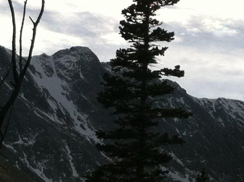 Taylor Glacier snowfields.