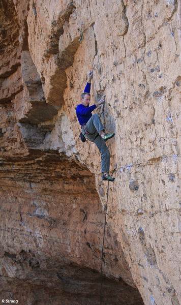 Keith Beckley powering up <br> Mad Cow (5.12)
