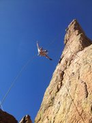 Rock Climbing Photo: Beautiful November day at the Sceptor!