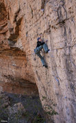 Rock Climbing Photo: A cold day on the classic Cutter (5.11)