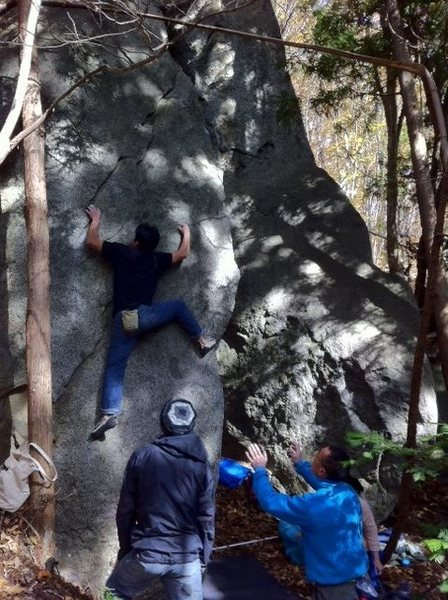 Rock Climbing Photo: Takei Take V6