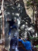 Rock Climbing Photo: Takei Take V6
