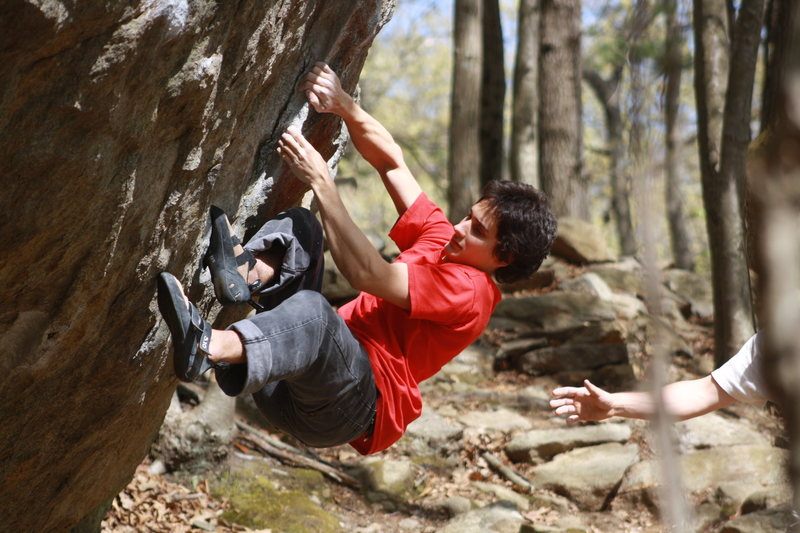 Rock Climbing Photo: Keith back a few years ago