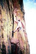 Rock Climbing Photo: Ruper traverse, Eldorado 1978
