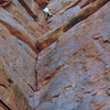 O'Neil Butte, East Face Route, Grand Canyon, AZ 82'