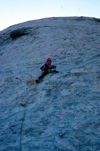 Walk on the wild side, Saddle Rock, Joshua Tree 82'