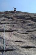 Rock Climbing Photo: Nose, Looking Glass, NC