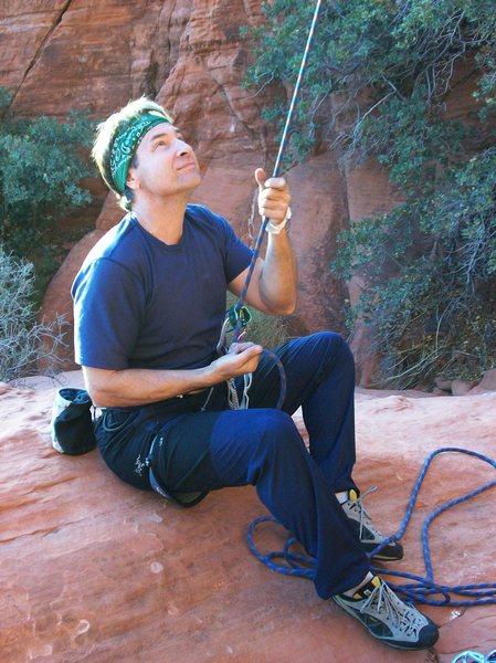 Rock Climbing Photo: Tim