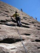 Rock Climbing Photo: Sundial, looking glass