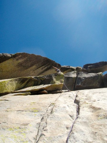 Rock Climbing Photo: P2 white punks on dope, Needles, California