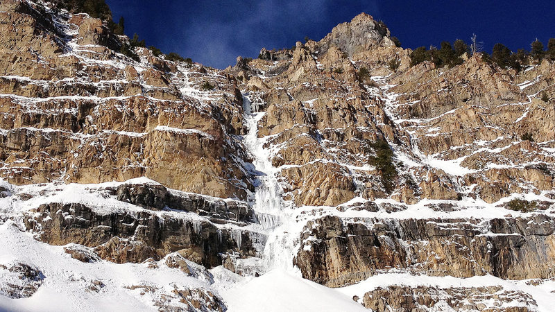 Rock Climbing Photo: Timp Ice on Saturday 11-24-2012