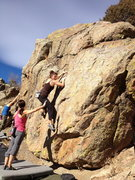Rock Climbing Photo: Scoop Face.