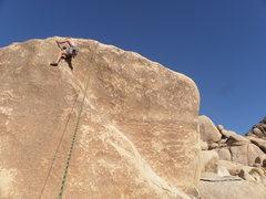 Rock Climbing Photo: Kyle Wills chillin' on Rachel.