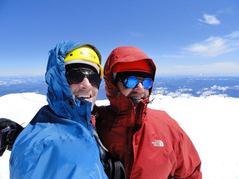 The obligatory summit shot...