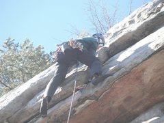 Rock Climbing Photo: Pulled it!