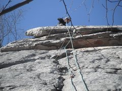 Rock Climbing Photo: Pull the roof