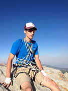 Rock Climbing Photo: eric atwell appreciating the view after topping ou...