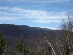Rock Climbing Photo: Mt Washington from the slabs