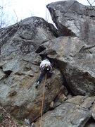Rock Climbing Photo: Jon on the start Photo taken by Lauren