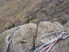 Rock Climbing Photo: The anchor.