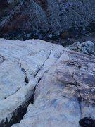 Rock Climbing Photo: very Flatirons-like climbing so far