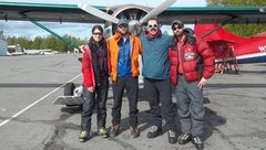 Rock Climbing Photo: Shelby, Ryan, Dave, and Rob heading out from Talke...