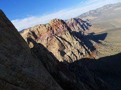 Rock Climbing Photo: looking toward Rainbow Mt