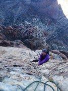Rock Climbing Photo: Brian on P12