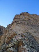 Rock Climbing Photo: top of Resolution Arete (no link-up this time)