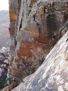 Rock Climbing Photo: spectacular red, Eldo-like wall